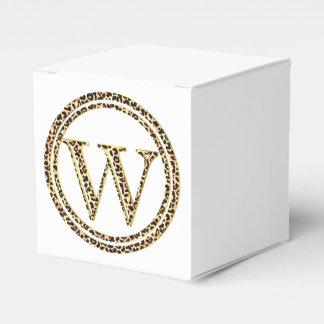 Leopard W Favor Box