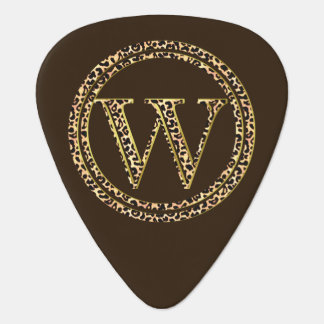 Leopard W Guitar Pick