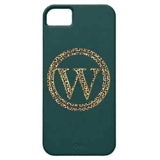 Leopard W iPhone 5 Cover