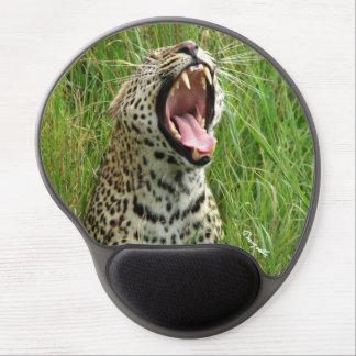 Leopard Yawning Gel-Mousepad Gel Mouse Pad