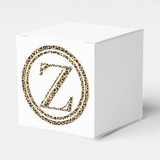 Leopard Z Favor Box