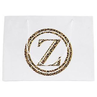Leopard Z Large Gift Bag