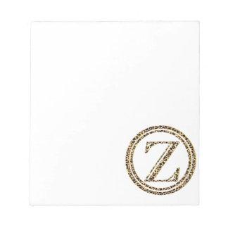 Leopard Z Notepad