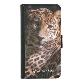 Leopards Gaze - Galaxy S5 Samsung Galaxy S5 Wallet Case