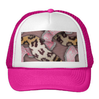 Leopards 'n Lace - intense pink - Trucker Hat