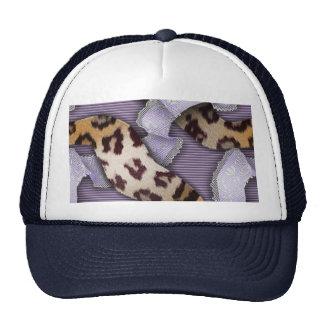 Leopards 'n Lace - purple - Trucker Hat