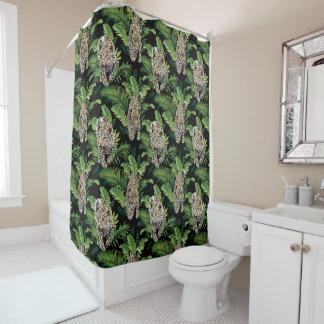 Leopards Pattern shower curtain