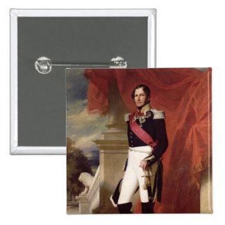 Leopold I  1840 2 Inch Square Button