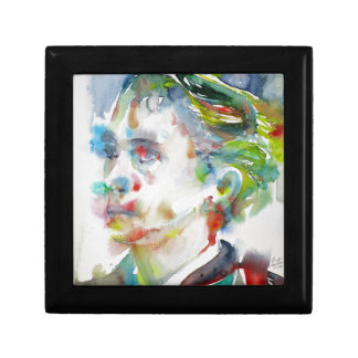leopold von sacher masoch - watercolor portrait gift box