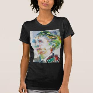 leopold von sacher masoch - watercolor portrait T-Shirt