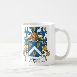 Lepage Family Crest Coffee Mug