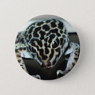 Lepard Gecko 2 Inch Round Button