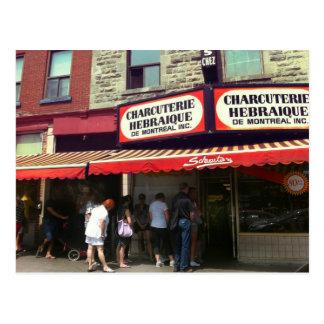 L'épicerie de Schwartz, Montréal, Québec Cartes Postales