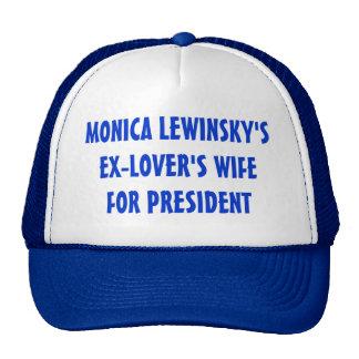 L'épouse des Ex-Amants pour le Président Hat (bleu Casquettes
