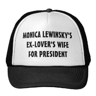 L'épouse des Ex-Amants pour le Président Hat (noir Casquette