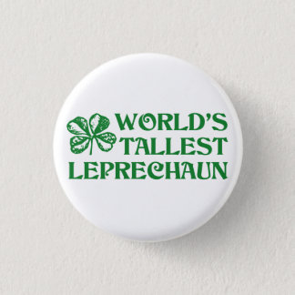 Leprechaun 1 Inch Round Button