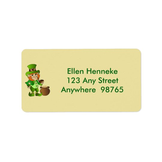 Leprechaun 2 label