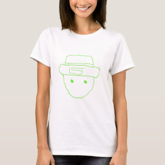 Leprechaun Amateur Sketch T-Shirt