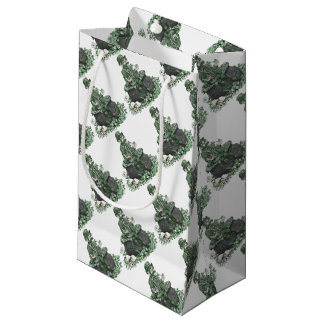 Leprechaun and a Pot of Gold Small Gift Bag