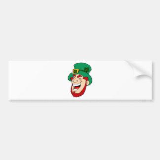 leprechaun bumper sticker