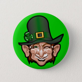 Leprechaun Button