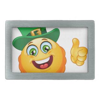 leprechaun emoji belt buckles