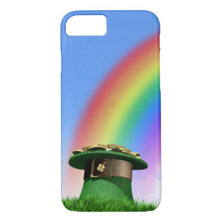 Leprechaun Hat With Gold On A Grassy Hill iPhone 8/7 Case