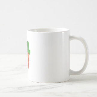 Leprechaun Head Front Drawing Coffee Mug