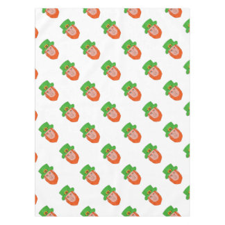 Leprechaun Head Front Drawing Tablecloth