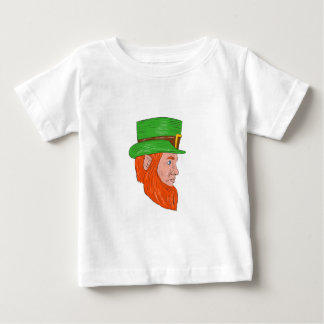 Leprechaun Head Side Drawing Baby T-Shirt