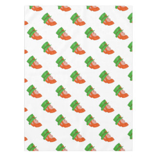 Leprechaun Head Side Drawing Tablecloth