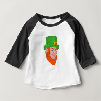 Leprechaun Head Three Quarter View Drawing Baby T-Shirt
