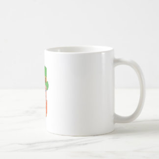 Leprechaun Head Three Quarter View Drawing Coffee Mug