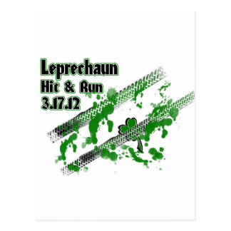 Leprechaun Hit & Run 3.17.12 Postcard