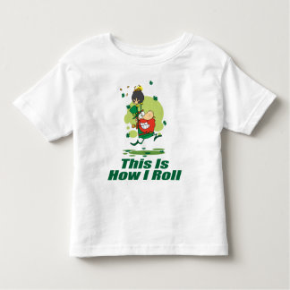Leprechaun How I Roll T-shirt