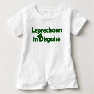 Leprechaun in Disguise for Saint Patrick's Day Baby Romper