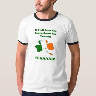 Leprechaun in Mobile Tshirt