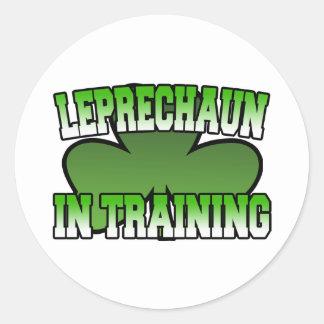Leprechaun in Training Sticker