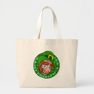 LEPRECHAUN LARGE TOTE BAG