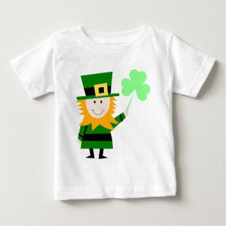 Leprechaun Lucky Clover Man Baby T-Shirt