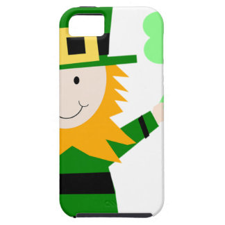 Leprechaun Lucky Clover Man Case For The iPhone 5