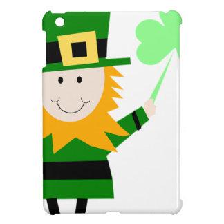 Leprechaun Lucky Clover Man iPad Mini Cover
