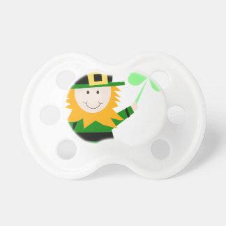 Leprechaun Lucky Clover Man Pacifier