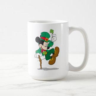 Leprechaun Mickey Mouse | St. Patrick's Day Coffee Mug