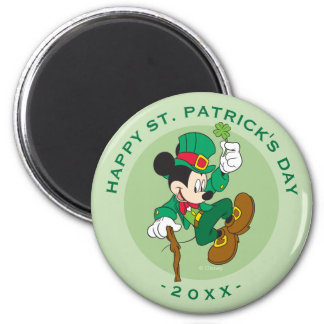 Leprechaun Mickey Mouse | St. Patrick's Day Magnet