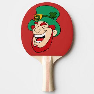 leprechaun ping pong paddle