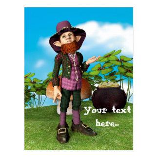 Leprechaun Postcard