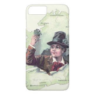 Leprechaun Shamrock Ireland Island iPhone 8 Plus/7 Plus Case