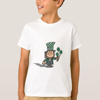 Leprechaun With Clovers Shirts