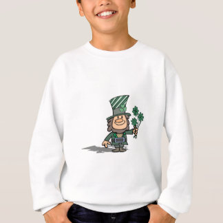 Leprechaun With Clovers T Shirts